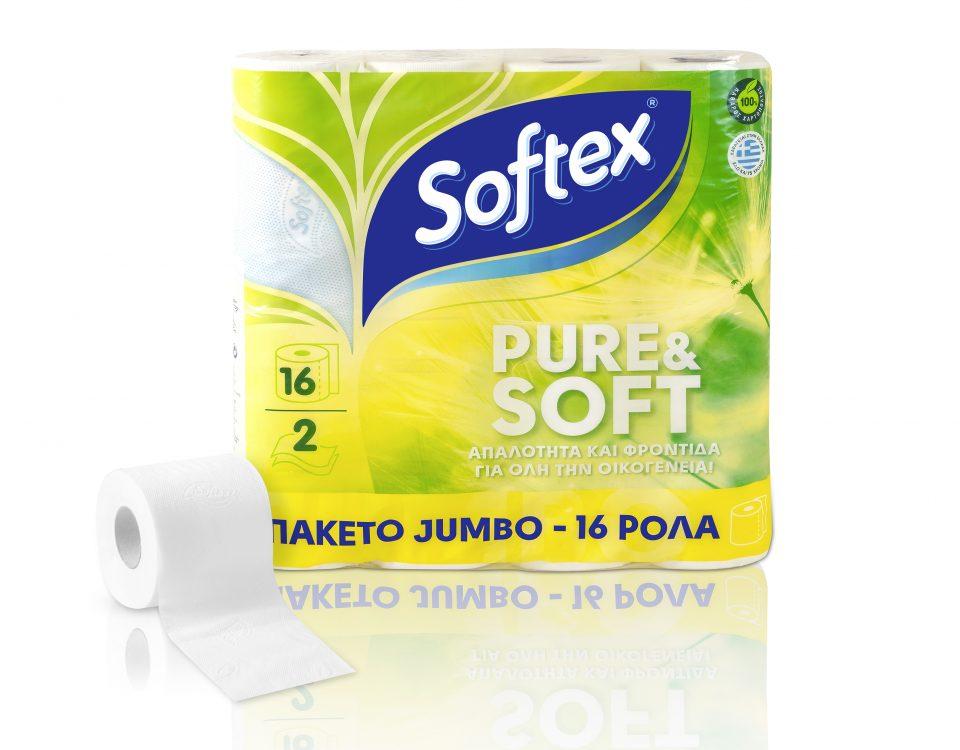 Pure & Soft (16 ROLLS)